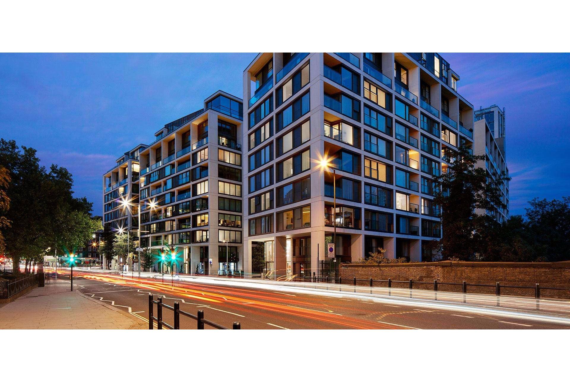 Benson House 4 Radnor Terrace Kensington London W14